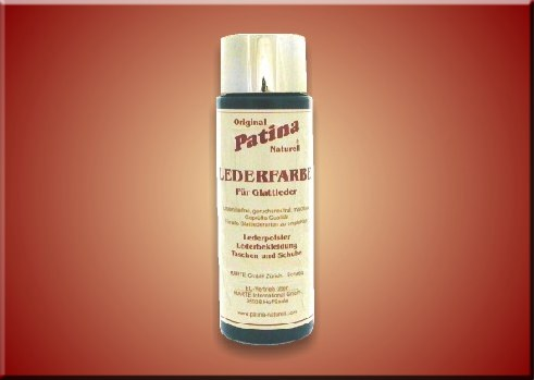 Patina Naturell Lederfarbe für Rauleder - 200 ml Fl.