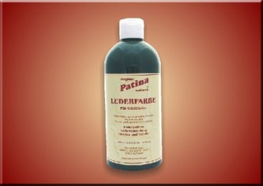 Patina Naturell Lederfarbe für Rauleder - 500 ml Fl.